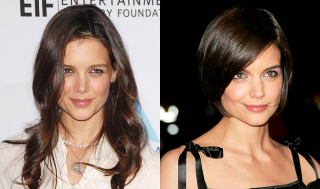 katie holmes hair color. Katie Holmes looks like a