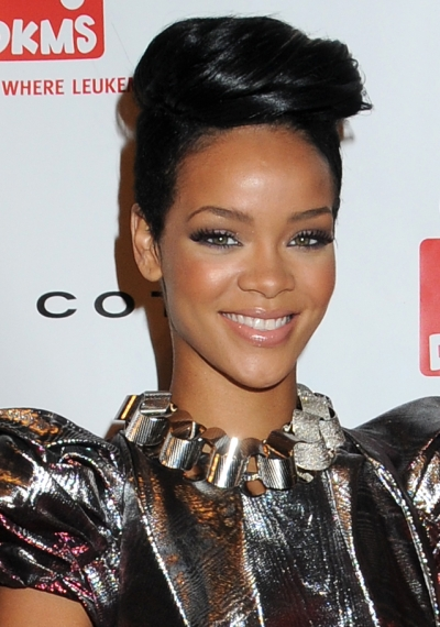 celebrity hairstyles, short hair. Lady RiRi. 05.12.09  No Comments