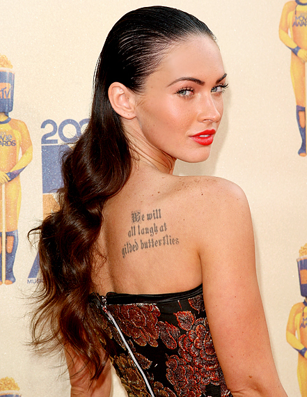 megan fox hair extensions. Maybe her hair stylist