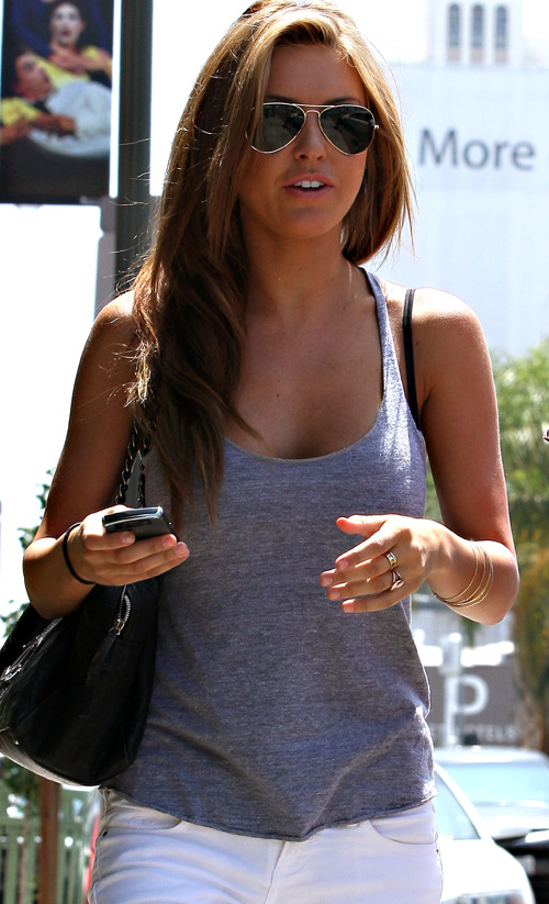 audrina patridge highlights hair. Audrina Patridge Aug. 18