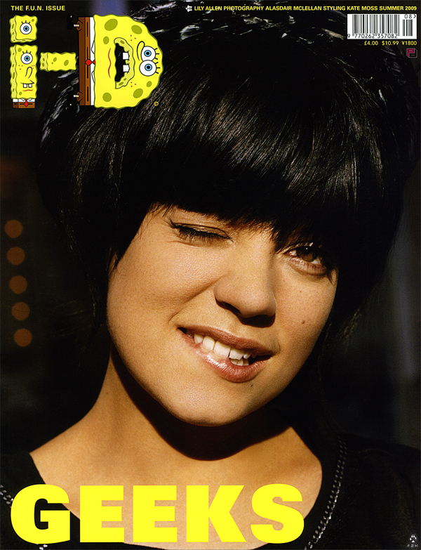 lily allen short haircut. Lily Allen was the cover girl