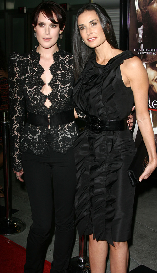 Demi Moore and Rumer Willis Sept. 3