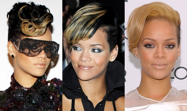 Rihanna-blonde-highlights
