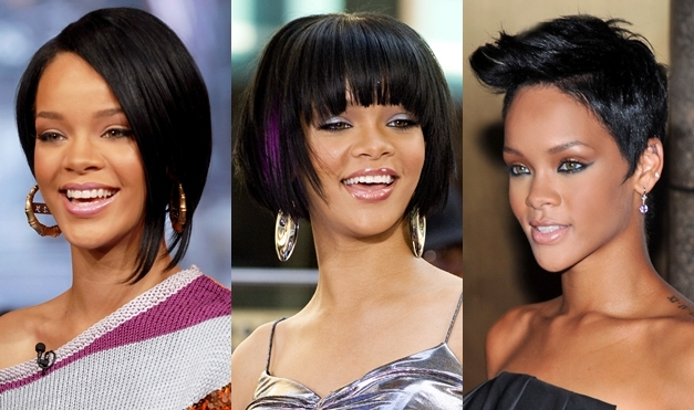 Rihanna-bob-asymmetrical-bangs-short-pixie