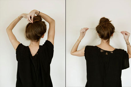 french-bun-hair-style-how-to