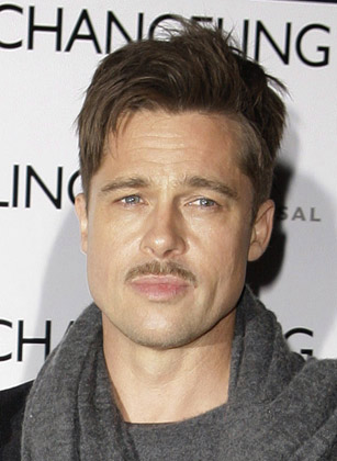 brad pitt hair dryer. Grow One for Movember | Hair