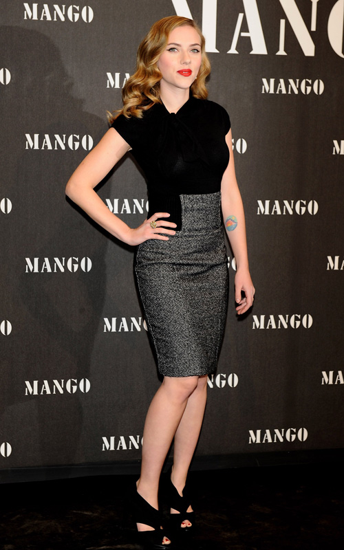 scarlett-johansson-Mango-collection-launch-party
