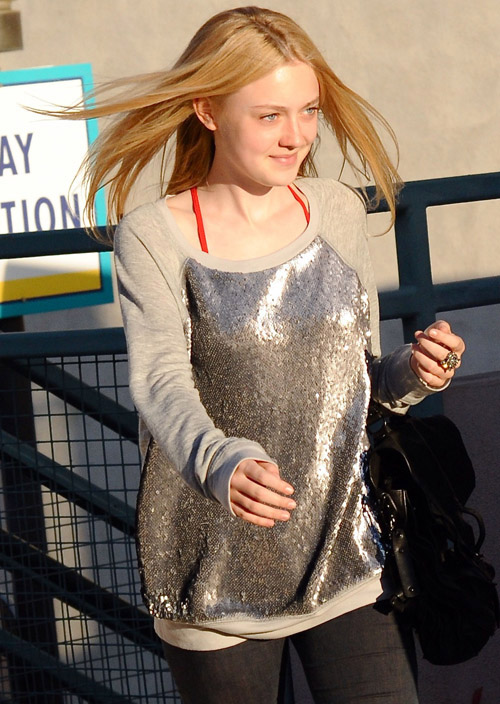 Dakota Fanning Nov. 4