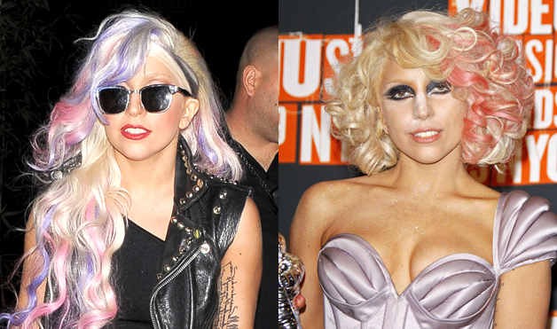 Lady-Gaga-Hairstyles-Highlights