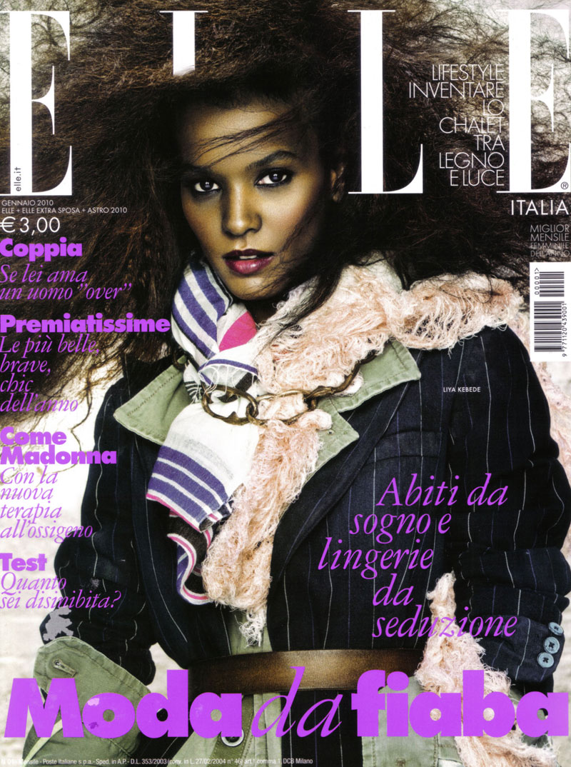 Liya-Kebede-cover-January-2010-Elle-Italy