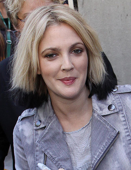 Drew-barrymore-two-tone-hair