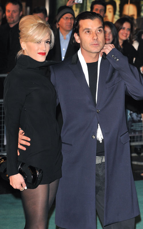 Gwen-Stefani-Gavin-Rossdale-sherlock-holmes-premiere