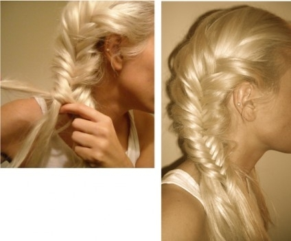 blonde-fishtail-braid