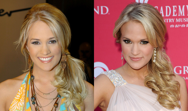 Carrie-Underwood-Side-Ponytail