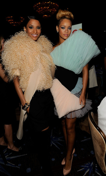 Ciara-Rihanna-52nd-Annual-GRAMMY-Awards-Salute-To-Icons