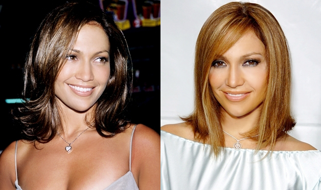 Jennifer-Lopez-Shoulder-Length-hair