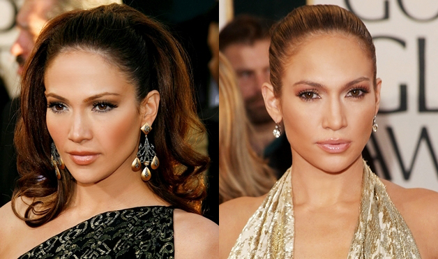 Jennifer-Lopez-pulled-back-hairstyle
