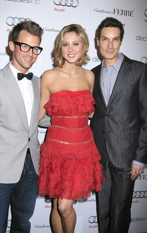 Eva-Amurri-brad-Goreski-Golden-Globes-party-Sunset-Tower