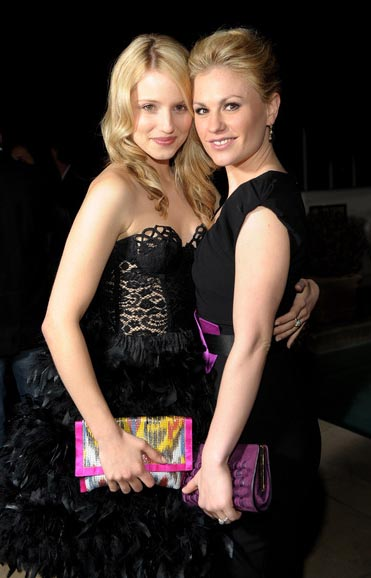 anna-paquin-Dianna-Agron-Golden-Globes-party-Sunset-Tower