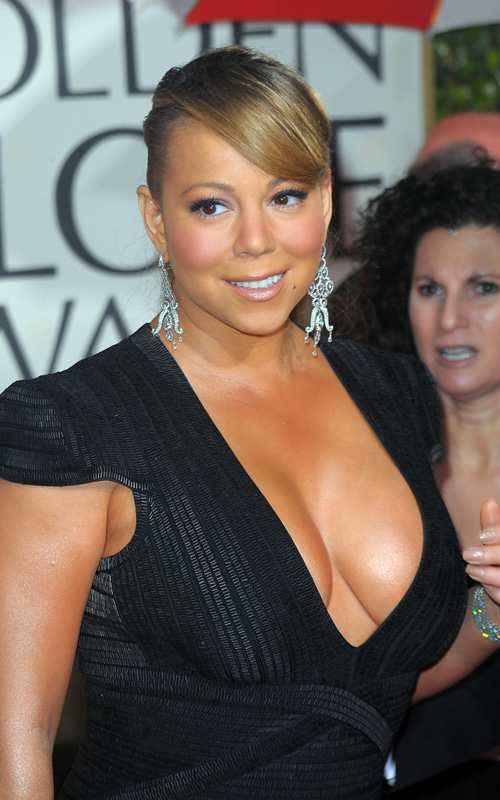 mariah-carey-golden-globes-updo