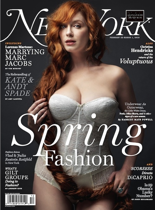 Mad-Mens-Christina-Hendricks-February -cover-new-York-Magazine
