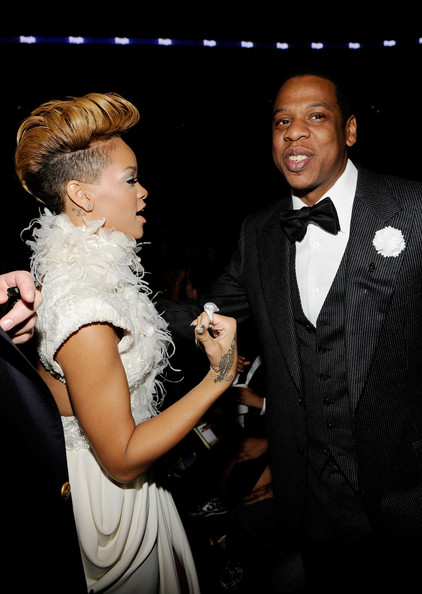 Rihanna-jayz-52nd-Annual-GRAMMY-Awards-Audience