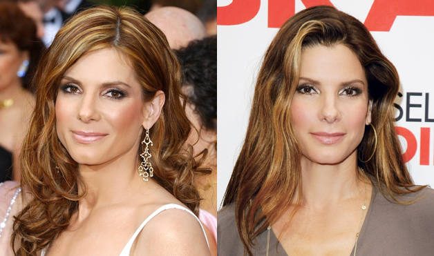 Sandra-bullock-blonde-highlights