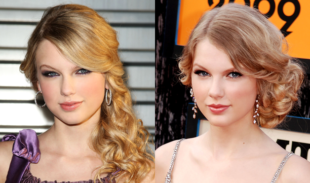 Taylor-Swift-Hairstyles-side-swept
