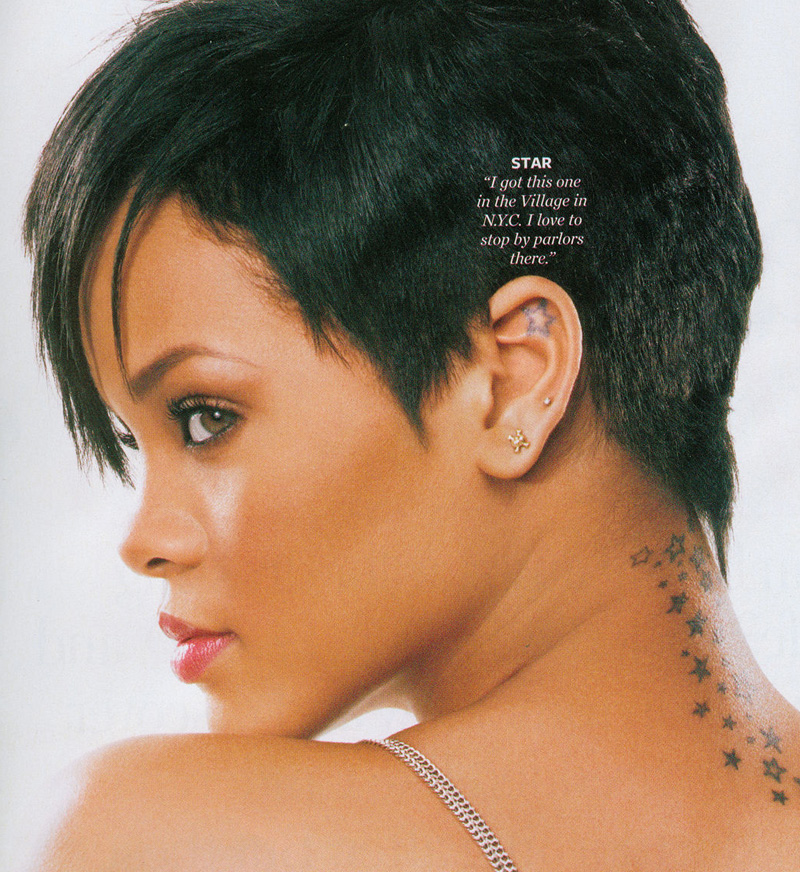 rihanna-star-tattoo