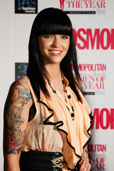 MTV-VJ-Ruby-Rose-long-black-hair-blunt-bangs