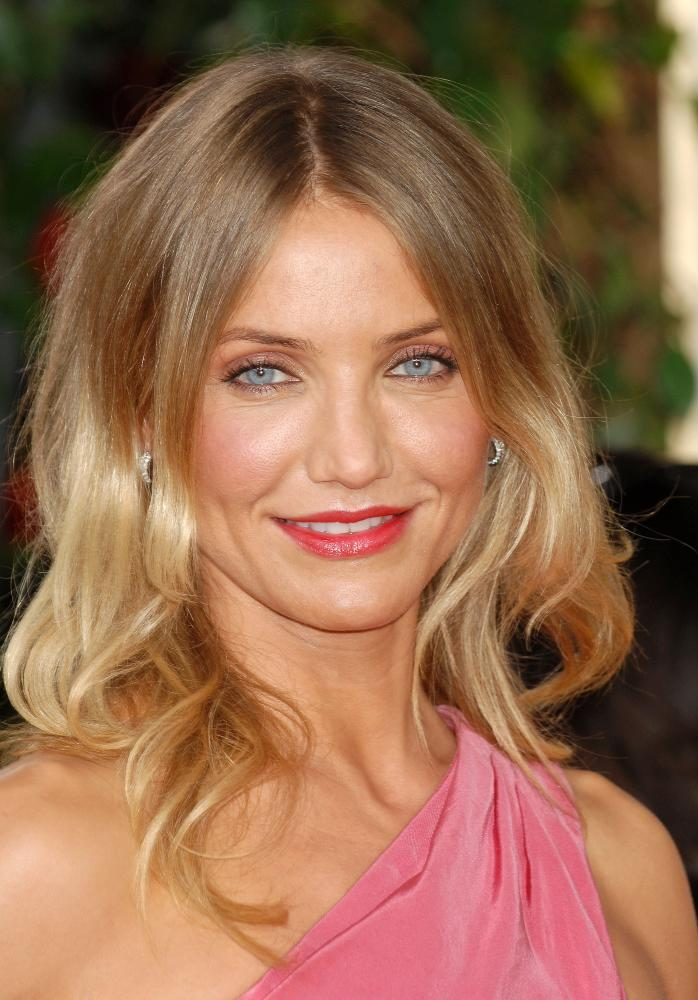 cameron-diaz-two-toned-hair-color