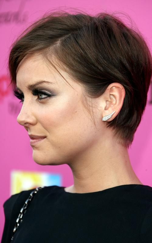Jessica Stroup Short Hair Pixie