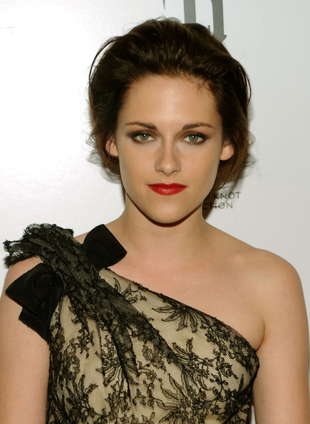 Kristen is a natural beauty, whether she's a sun-kissed blonde or a gothic